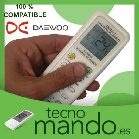 DAEWOO - MANDO A DISTANCIA AIRE ACONDICIONADO  100% COMPATIBLE