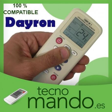 DAYRON - MANDO A DISTANCIA AIRE ACONDICIONADO  100% COMPATIBLE