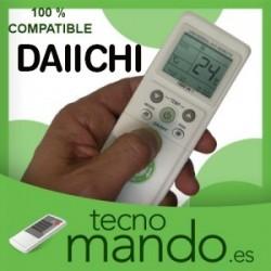DAIICHI - MANDO A DISTANCIA AIRE ACONDICIONADO 100% COMPATIBLE