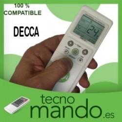 DECCA - MANDO A DISTANCIA AIRE ACONDICIONADO 100% COMPATIBLE