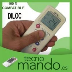 DILOC - MANDO A DISTANCIA AIRE ACONDICIONADO 100% COMPATIBLE