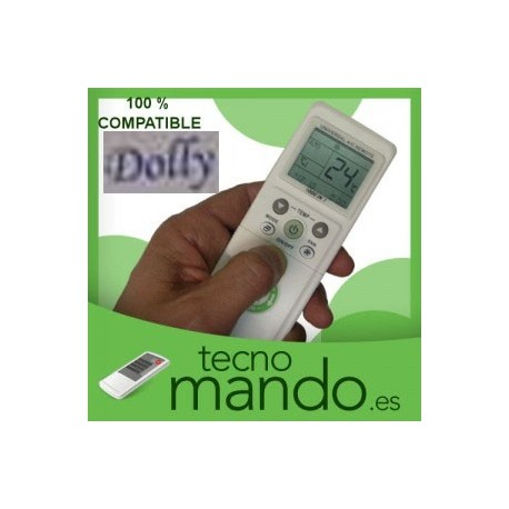 DOLLY - MANDO A DISTANCIA AIRE ACONDICIONADO  100% COMPATIBLE