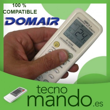 DOMAIR - MANDO A DISTANCIA AIRE ACONDICIONADO  100% COMPATIBLE