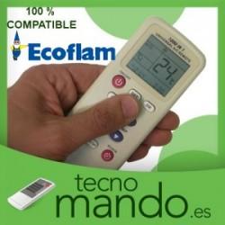 ECOFLAM - MANDO A DISTANCIA AIRE ACONDICIONADO 100% COMPATIBLE