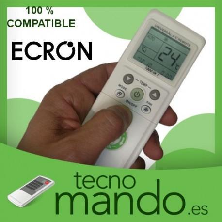 ECRON - MANDO A DISTANCIA AIRE ACONDICIONADO  100% COMPATIBLE
