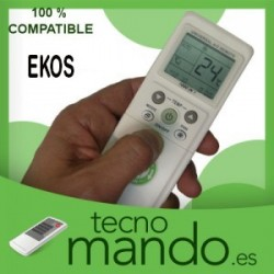 EKOS - MANDO A DISTANCIA AIRE ACONDICIONADO 100% COMPATIBLE