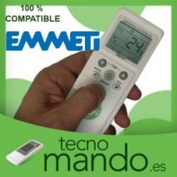 EMMETI - MANDO A DISTANCIA AIRE ACONDICIONADO 100% COMPATIBLE
