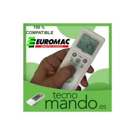 EUROMAC - MANDO A DISTANCIA AIRE ACONDICIONADO 100% COMPATIBLE