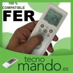 FER - MANDO A DISTANCIA AIRE ACONDICIONADO 100% COMPATIBLE