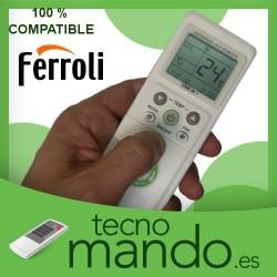 FERROLI - MANDO A DISTANCIA AIRE ACONDICIONADO  100% COMPATIBLE