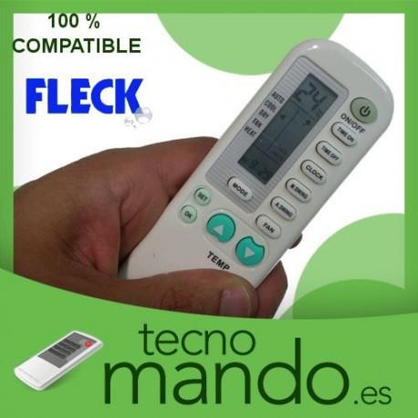 FLECK - MANDO A DISTANCIA AIRE ACONDICIONADO  100% COMPATIBLE