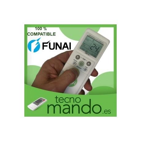 FUNAI - MANDO A DISTANCIA AIRE ACONDICIONADO  100% COMPATIBLE