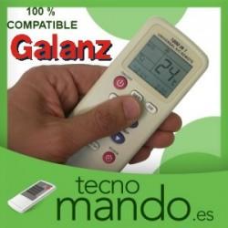 GALANZ - MANDO A DISTANCIA AIRE ACONDICIONADO 100% COMPATIBLE