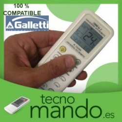 GALLETTI - MANDO A DISTANCIA AIRE ACONDICIONADO 100% COMPATIBLE