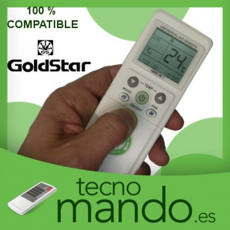 GOLDSTAR - MANDO A DISTANCIA AIRE ACONDICIONADO  100% COMPATIBLE