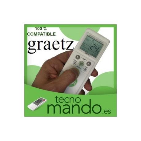 GRAETZ - MANDO A DISTANCIA AIRE ACONDICIONADO  100% COMPATIBLE