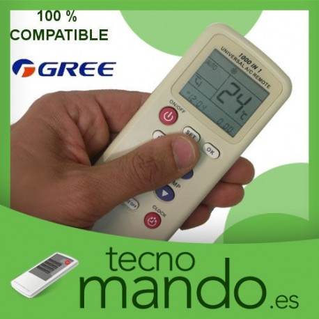 GREE - MANDO A DISTANCIA AIRE ACONDICIONADO  100% COMPATIBLE