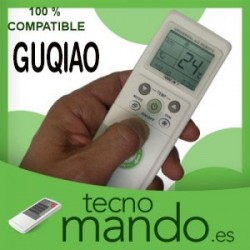 GUQIAO - MANDO A DISTANCIA AIRE ACONDICIONADO 100% COMPATIBLE