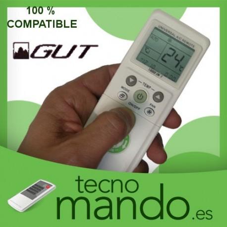 GUT - MANDO A DISTANCIA AIRE ACONDICIONADO 100% COMPATIBLE