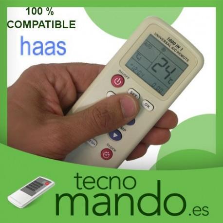 HAAS - MANDO A DISTANCIA AIRE ACONDICIONADO  100% COMPATIBLE