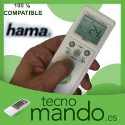 HAMA - MANDO A DISTANCIA AIRE ACONDICIONADO  100% COMPATIBLE