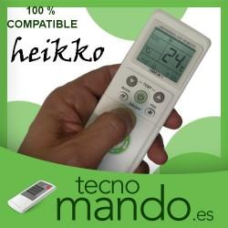HEIKKO - MANDO A DISTANCIA AIRE ACONDICIONADO  100% COMPATIBLE