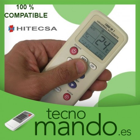HITECSA - MANDO A DISTANCIA AIRE ACONDICIONADO  100% COMPATIBLE
