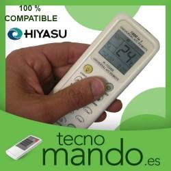HIYASU - MANDO A DISTANCIA AIRE ACONDICIONADO  100% COMPATIBLE