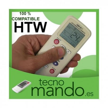HTW - MANDO A DISTANCIA AIRE ACONDICIONADO 100% COMPATIBLE