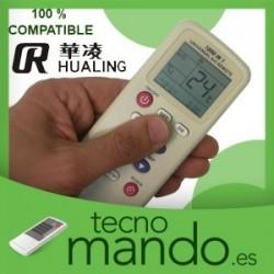 HUALING - MANDO A DISTANCIA AIRE ACONDICIONADO 100% COMPATIBLE