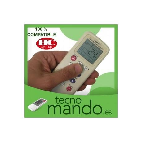 HUIKANG - MANDO A DISTANCIA AIRE ACONDICIONADO  100% COMPATIBLE