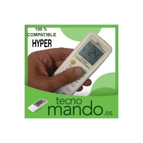 HYPER - MANDO A DISTANCIA AIRE ACONDICIONADO  100% COMPATIBLE