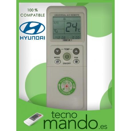 HYUNDAI - MANDO A DISTANCIA AIRE ACONDICIONADO  100% COMPATIBLE