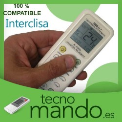 INTERCLISA - MANDO A DISTANCIA AIRE ACONDICIONADO 100% COMPATIBLE