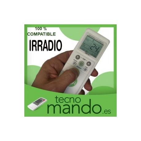IRRADIO - MANDO A DISTANCIA AIRE ACONDICIONADO  100% COMPATIBLE