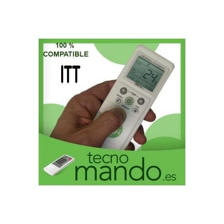 ITT - MANDO A DISTANCIA AIRE ACONDICIONADO 100% COMPATIBLE