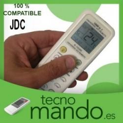 JDC - MANDO A DISTANCIA AIRE ACONDICIONADO 100% COMPATIBLE