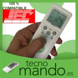 JEC - MANDO A DISTANCIA AIRE ACONDICIONADO 100% COMPATIBLE