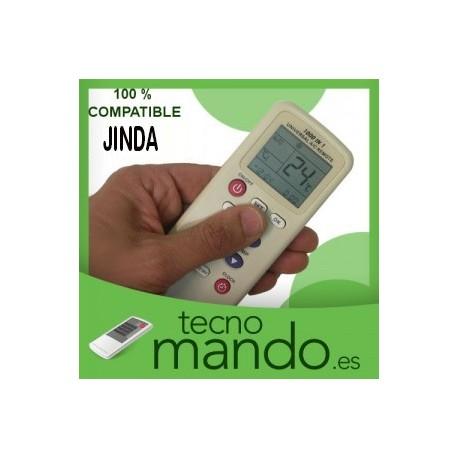 JINDA - MANDO A DISTANCIA AIRE ACONDICIONADO  100% COMPATIBLE