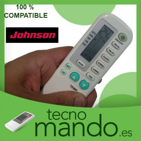 JOHNSON - MANDO A DISTANCIA AIRE ACONDICIONADO  100% COMPATIBLE