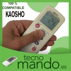 KAOSHO - MANDO A DISTANCIA AIRE ACONDICIONADO 100% COMPATIBLE