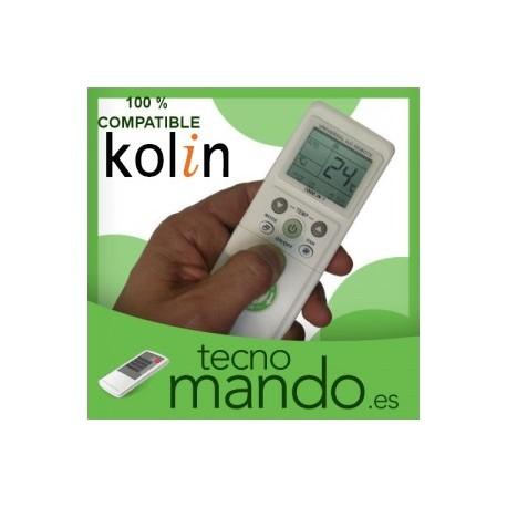 KOLIN - MANDO A DISTANCIA AIRE ACONDICIONADO 100% COMPATIBLE