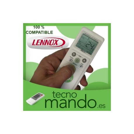 LENNOX - MANDO A DISTANCIA AIRE ACONDICIONADO  100% COMPATIBLE