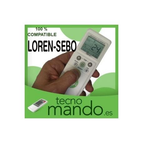 LOREN-SEBO - MANDO A DISTANCIA AIRE ACONDICIONADO 100% COMPATIBLE