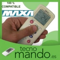 MAXA - MANDO A DISTANCIA AIRE ACONDICIONADO 100% COMPATIBLE