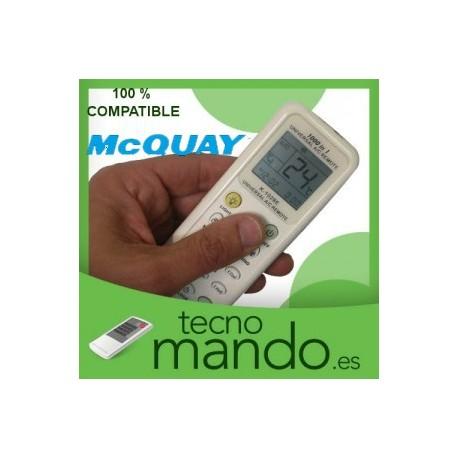 MCQUAY - MANDO A DISTANCIA AIRE ACONDICIONADO  100% COMPATIBLE