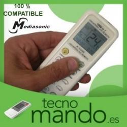 MEDIASONIC - MANDO A DISTANCIA AIRE ACONDICIONADO 100% COMPATIBLE