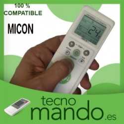 MICON - MANDO A DISTANCIA AIRE ACONDICIONADO 100% COMPATIBLE