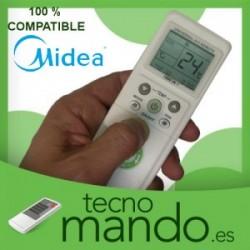 MIDEA - MANDO A DISTANCIA AIRE ACONDICIONADO 100% COMPATIBLE