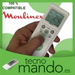 MOULINEX - MANDO A DISTANCIA AIRE ACONDICIONADO  100% COMPATIBLE